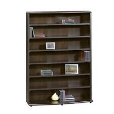 Multimedia Storage Tower Book Shelves Organizer