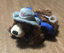 "Plush Doll Brown Bear Canada Post Postal Service Mailman - 5"""