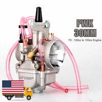 30mm Universal 2T 4T Motorcycles PWK Carburetor For Keihin Koso OKO Power Jet