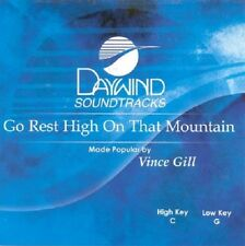 Vince Gill - Go Rest High On That Mountain -  Accompaniment Cd New