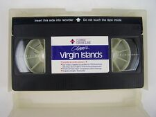 Clipper's Virgin Islands Travel Promo VHS Tape
