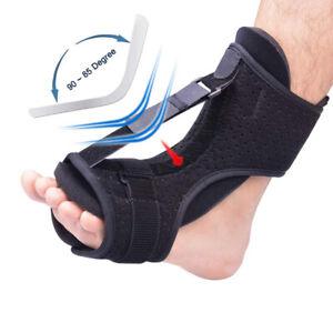 Adjustable Elastic Dorsal Plantar Fasciiti Night Splint Foot Drop Orthotic Brace