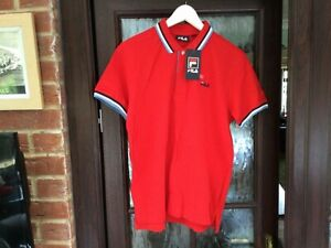 FILA Polo Shirt Size Medium