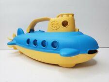Submarine Green Toys Yellow Recycled Plastic Dishwasher Safe BPA Free Floater
