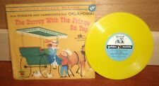 Little Golden Record The Surrey With the Fringe on Top 45 Picture Sleeve