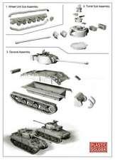 PSC M4A4 SHERMAN FIREFLY TANK - 1 QUICK BUILD TANK IN BOX 1:72 Scale Model Kit