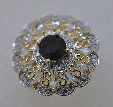 Markenlose Ringe mit Edelsteinen aus Feinsilber