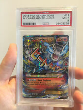 PSA 9 M Mega Charizard EX Generations Holo #12 2016 Pokemon Card
