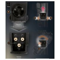 Supporto fondina in polimero rotativo e disconnessione DSQA 8K31  Vega Holster