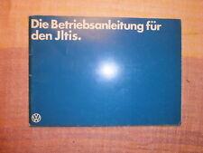 VW Iltis, Betriebsanleitung Zivil Ausführung, Aug.1979, 96 S., neuwertig RAR !