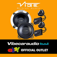 "Vibe Slick 4C Components V3 10cm 4"" 210 Watts 2 Way Car Door Speakers FREE P&P"