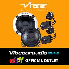 "Vibe Slick 4C Components V3 10cm 4"" 210 Watts 2 Way Car Door Speakers FREE P&P"
