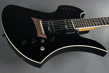BC Rich Mockingbird Polarity Electric Guitar with Piezo, Black Finish