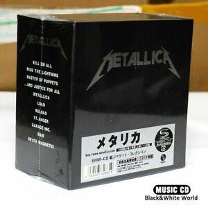 The Metallica Album Collection 13 Album CD Box Set SEALED Japan Import&Free Ship