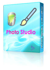 Photograph Editing Studio Picture Photo Image Editor Photoshop Compatible DVD PC