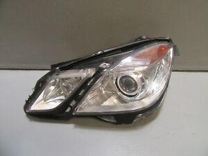 2010 - 2013 Mercedes Benz W212 E-Class E550 Left Side Bi-Xenon Headlight Oem