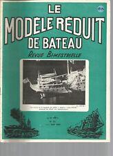 MODELE REDUIT DE BATEAU N°88 LE BRASAGE / LES DEMI-COQUES / SUPERSTRUCTURE COQUE