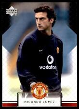 Upper Deck Manchester United 2002-2003 - Ricardo Lopez  No.25