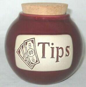Tips Ceramic Word Jar FREE SHIPPING