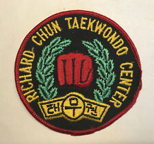Richard Chun Taekwondo Center Patch Korea Karate Martial Art