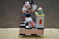 """Schmid drehende Porzellan-Spieluhr ©Walt Disney Handgemalt """"Minnie Maus""""  RAR"""