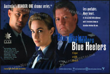 BLUE HEELERS__Original 1994 Trade AD / TV series promo__JOHN WOOD__JULIE NIHILL