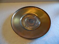 Vintage United States Congress Brass Glass Trinket Coin Tray Dish Spin Craft