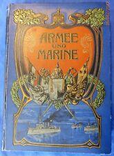 J. Kürschner : Armee und Marine (Erstausgabe, 1902)
