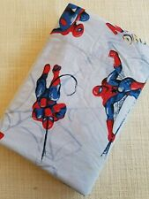 """Pottery Barn Kids """"Amazing Spider-Man"""" Twin Flat Sheet Cotton"""