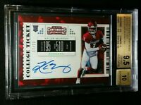 BGS 9.5/10 POP 2 KYLER MURRAY RC AUTO CRACKED ICE SSP /23 2019 Panini Contenders