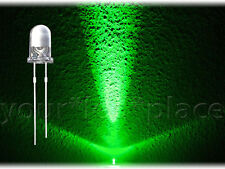 500 x 5mm LED aproximadamente-verde - 30 ° ultrahell cabeza redonda super brillante Green