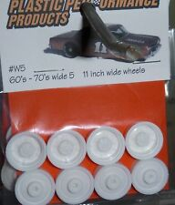 PPP #W5 NASCAR 1/25 60s-70S WIDE 5 11' WHEELS SET STOCK PARTS MODEL CAR MOUNTAIN