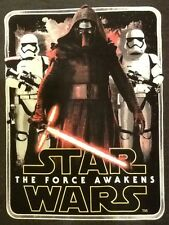 """NEW STAR WARS """"THE FORCE AWAKENS"""" LARGE T -SHIRT FREE SHIPPING"""