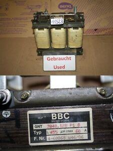BBC Gnt 7048.128 P B Throttle Transformer L 455 Uh Imax 60A GNT7048128