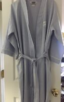 Hemingway Point Mens Blue w White Piping Robe with Belt One Size Fits Most USA