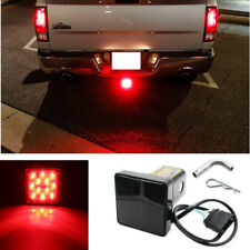 """1x Smoked Lens 12-LED Truck Trailer Offroad Brake Light Fit Towing & Hauling 2"""""""