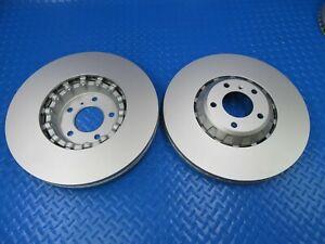 Bentley Bentayga front brake disc rotors TopEuro #7391 2pcs