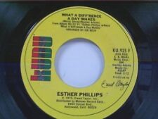 "ESTHER PHILLIPS ""WHAT A DIFFERENCE A DAY MAKES / TURN AROUND LOOK AT ME"" 45 MINT"