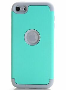 For iPod Touch 6th & 7th Gen - Hard & Soft Hybrid Shockproof Armor Case Cover