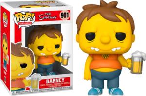 "THE SIMPSONS BARNEY GUMBLE 3.75"" POP TV VINYL FIGURE FUNKO 901 UK SELLER"