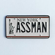 ASSMAN Enamel Pin seinfeld kramer license plate larry david