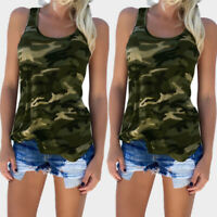 Summer Sleeveless Baggy Casual Women's Vest Tops Loose Tank Top T-shirt Blouse