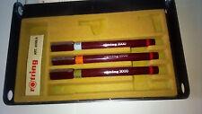 Penne a china Rotring 2000 - Set scuola 3 pezzi