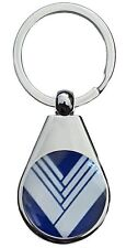 MX5 EUNÔS CHROME POLISHED KEYRING PEAR STYLE SHAPE