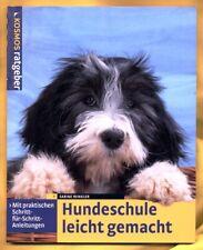 SABINE WINKLER - HUNDESCHULE LEICHT GEMACHT - HAUSTIERE - RATGEBER - TOP ZUSTAND