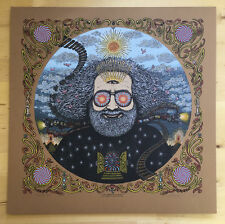MARQ SPUSTA JERRY GARCIA BICYCLE DAY VARIANT BROWN EDITION SIGNED & NUMBERED 150