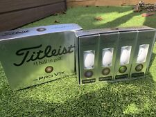 Limited Edition - 2020 Titleist Pro V1x Left Dash Golf Balls *Free Delivery*