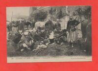 Guerre de 1914 - RIBECOURT - Campement de spahis marocains   (J6680)