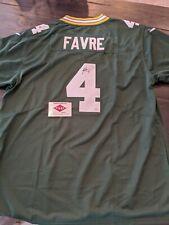 Brett Favre NFL Green Bay Packers Nike Jersey Autographed Authentic HOF