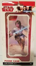 Star Wars The Force Awaken Luke Skywalker Phone Case iPhone 6/7 Disney Free Ship